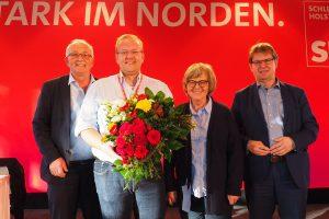 Udo Bullmann, Enrico Kreft, Ulrike Rodust, Ralf Stegner
